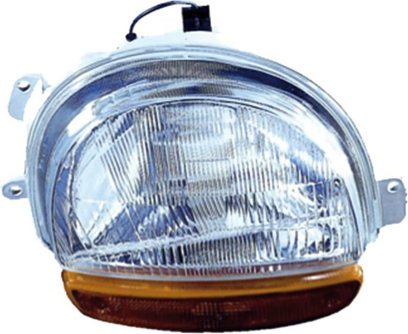 phare optique avant droit renault twingo i phase 1 1993 1998 clignotant orange neuf lectrique feu. Black Bedroom Furniture Sets. Home Design Ideas