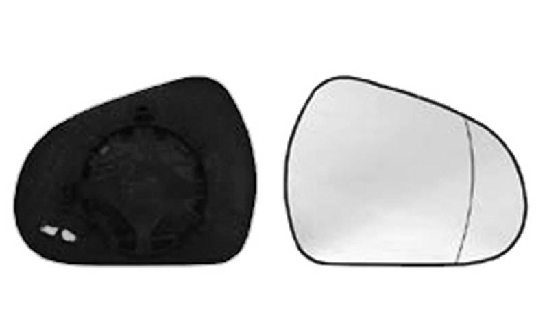 Miroir De Verre Verre Rétroviseur Extérieur Rétroviseur Droite