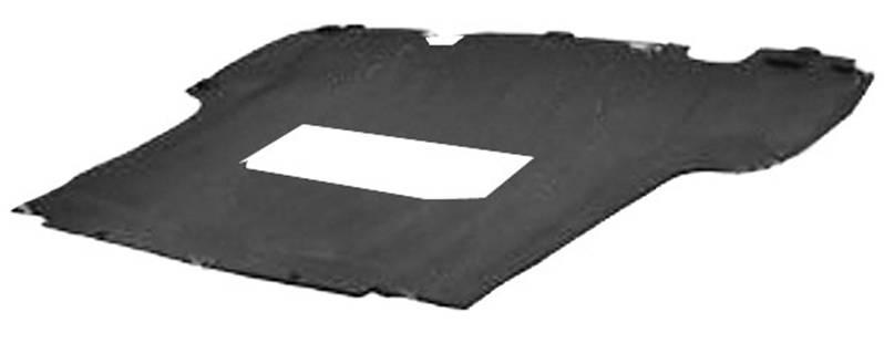 cache protection sous moteur renault clio iii phase 1 2005 2009 neuf essence noir carter. Black Bedroom Furniture Sets. Home Design Ideas