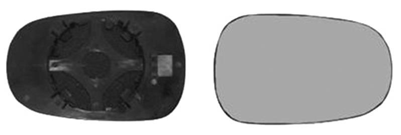 miroir r troviseur droit renault megane scenic i 1996 1999 neuf glace verre ext rieur phase 1. Black Bedroom Furniture Sets. Home Design Ideas