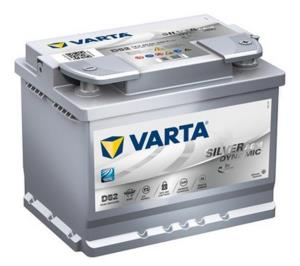Batterie voiture VARTA D52 Start & Stop Silver AGM 60 Ah - 560 901 068