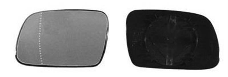 miroir glace r troviseur gauche peugeot 307 phase 2 2005 2008 neuf verre asph rique ext rieur. Black Bedroom Furniture Sets. Home Design Ideas