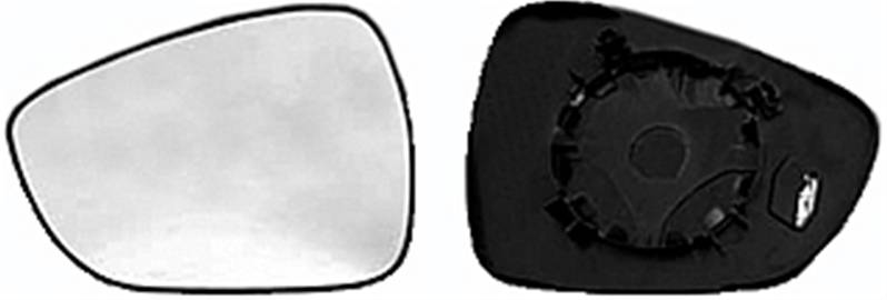 miroir glace r troviseur gauche citro n c3 ii phase 1 2009 2013 neuf verre ext rieur. Black Bedroom Furniture Sets. Home Design Ideas