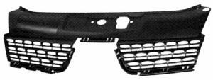 grille calandre sup rieure renault clio ii phase 2 2001 2005 noire pare chocs avant neuve radiateur. Black Bedroom Furniture Sets. Home Design Ideas