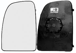 miroir glace r troviseur gauche peugeot boxer ii 2006 2014 neuf grand verre sup rieur ext rieur. Black Bedroom Furniture Sets. Home Design Ideas