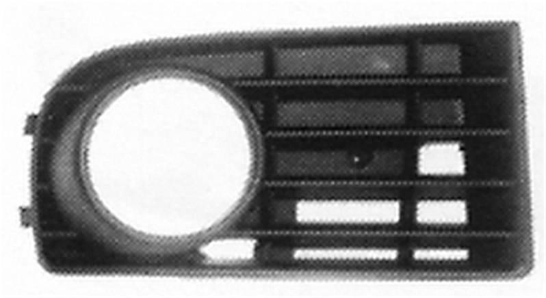 grille calandre droite volkswagen golf 5 2003 2008 noire. Black Bedroom Furniture Sets. Home Design Ideas