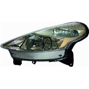 phare optique avant gauche citro n c3 i pluriel 2002 2005 neuf phase 1 coup d capotable cabriolet. Black Bedroom Furniture Sets. Home Design Ideas