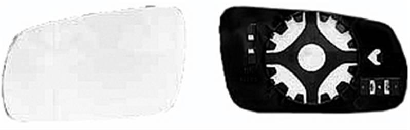 miroir glace r troviseur gauche volkswagen golf iv 1998 2003 neuf verre ext rieur grand mod le 17 cm. Black Bedroom Furniture Sets. Home Design Ideas
