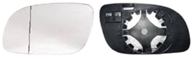 miroir glace r troviseur gauche volkswagen touran i 2006 2010 neuf verre d givrant ext rieur phase 2. Black Bedroom Furniture Sets. Home Design Ideas