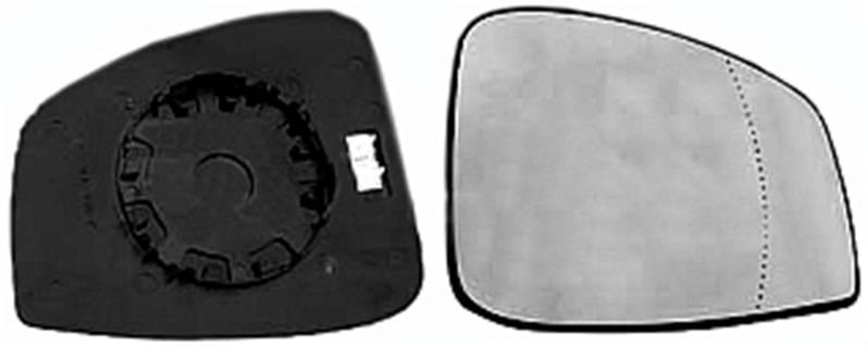 miroir glace r troviseur droit renault scenic iii 2012 2013 neuf verre d givrant chauffant phase 2. Black Bedroom Furniture Sets. Home Design Ideas
