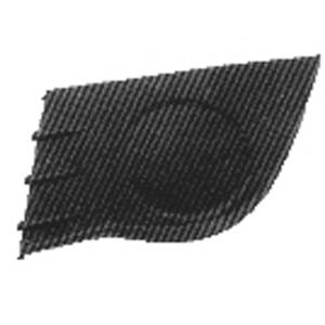 5250927 grille de calandre inf rieure gauche renault clio iii phase 1 2005 200 ebay. Black Bedroom Furniture Sets. Home Design Ideas