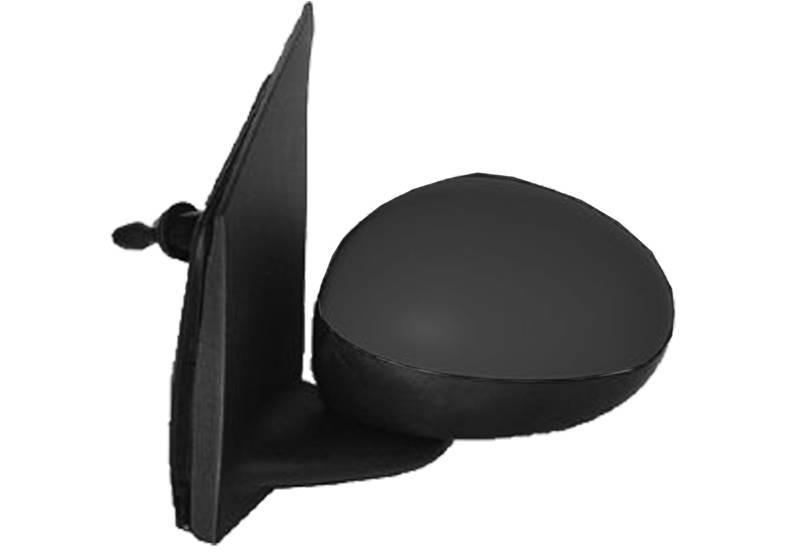 r troviseur gauche manuel peugeot 107 phase 1 2005 2008 neuf noir m canique ext rieur. Black Bedroom Furniture Sets. Home Design Ideas