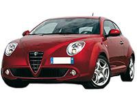 Grille Radiateur Masque Bouclier avant Alfa Romeo Mito 08/>12 2008/> Chrome
