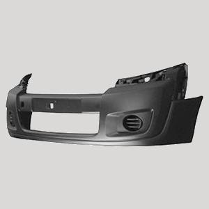 Peugeot 208 2015-Pare-chocs avant FOG LIGHT Grille Extérieure Section Avec Brouillard Trou droit