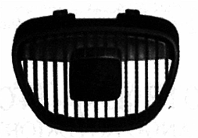 grille calandre centrale seat ibiza iii phase 1 2002 2006 neuve noire pare chocs avant sup rieure. Black Bedroom Furniture Sets. Home Design Ideas