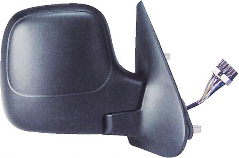r troviseur droit lectrique peugeot partner i 2002 2008 noir neuf ext rieur phase 2. Black Bedroom Furniture Sets. Home Design Ideas