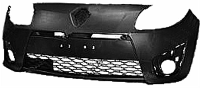 pare chocs avant noir renault twingo ii phase 1 2007 2011 neuf dynamique. Black Bedroom Furniture Sets. Home Design Ideas