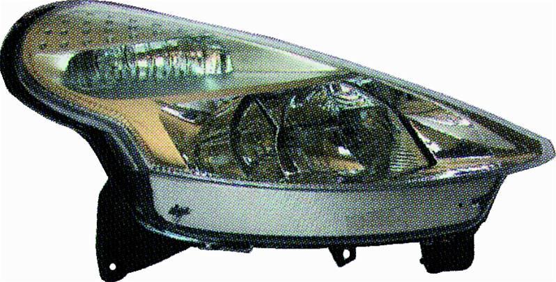 phare optique avant droit citro n c3 i pluriel 2005 2008 neuf phase 2 coup d capotable cabriolet. Black Bedroom Furniture Sets. Home Design Ideas