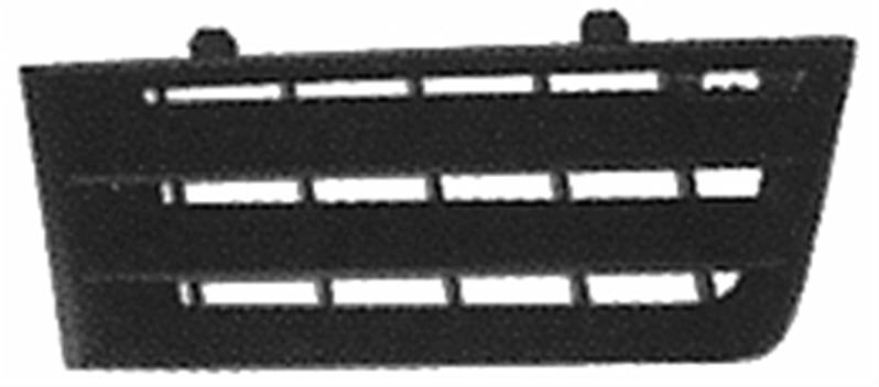 grille calandre droite renault scenic ii phase 1 2003 2006 neuve noire pare chocs. Black Bedroom Furniture Sets. Home Design Ideas